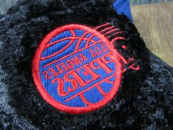 Los Angeles Clippers Visor basketball ONE SIZE elastic NWT v