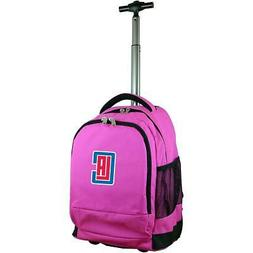 mojo los angeles clippers premium wheeled backpack