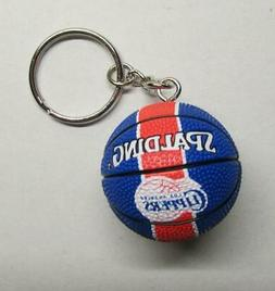 NBA Basketball Los Angeles CLIPPERS Spalding Ball KEY CHAIN