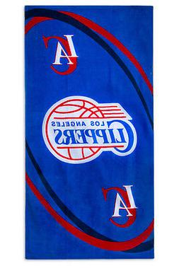 """NBA Los Angeles Clippers Beach Towel 100% Cotton 30""""x60"""""""