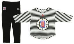 Adidas NBA Girls Toddlers Los Angeles Clippers B-Ball Sweath