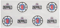 NBA Los Angeles Clippers Face Tattoos, 8-piece Set