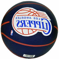 Spalding NBA Los Angeles Clippers Team Colors And Logo Mini