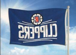 NBA Los Angeles Clippers Banner Flag 3-Foot by 5-Foot