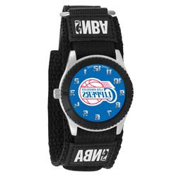 """Game Time Unisex NBA-ROB-LAC """"Rookie Black"""" Watch - Los Ange"""