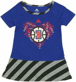 adidas NBA Toddlers Los Angeles Clippers Fancie Drop Waist D