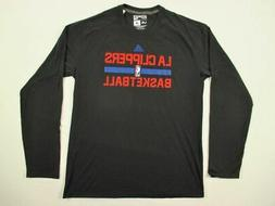 Los Angeles Clippers adidas Long Sleeve Shirt Men's New Mult