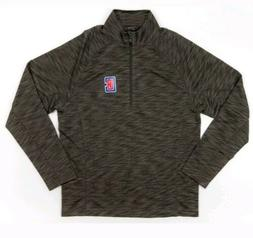 New NBA Los Angeles Clippers Medallion Mobility Quarter Zip