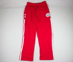 Los Angeles Clippers adidas Pants Men's Red Athletic New Mul