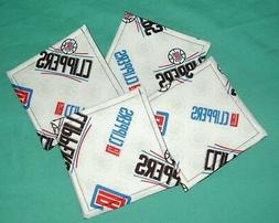 NEW LOS ANGELES LA CLIPPERS NBA BASKETBALL TEAM Drink SET OF