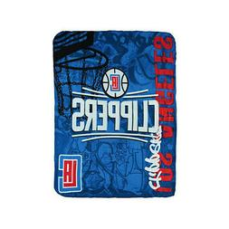 New Northwest NBA Los Angeles Clippers Large Soft Fleece Thr