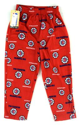 nwt red los angeles clippers fleece lounge