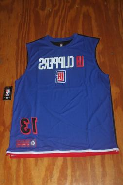 Paul George Los Angeles Clippers Jersey size large NWT