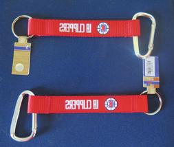 TWO BEAUTIFUL AND HANDY, LOS ANGELES CLIPPERS CARABINER KEYC